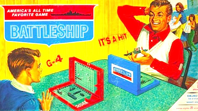 Let's write the sequel to Battleship based on some crap I found on my kitchen table