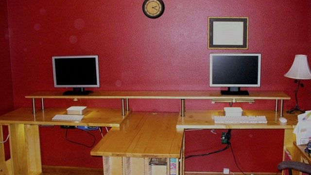 The Custom-Built Workspace for Two