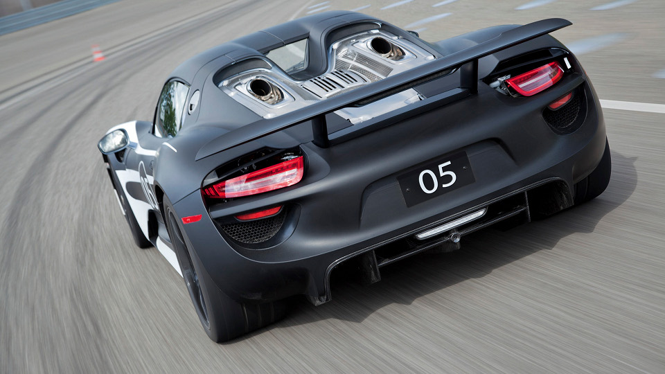 Check Out The New Porsche Spyder 