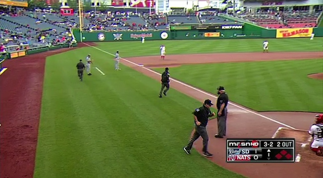 The Padres And Nationals Were Ready To Resume Play, But Three Of The Umpires Were Nowhere To Be Found