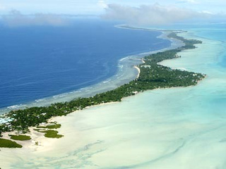 Heavily-Populated Kiribati Islands Sinking Beneath the Waves