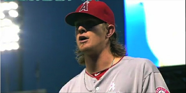 "Jered Weaver Sings Along To ""Hit The Road Jack"" After Being Pulled From Game"