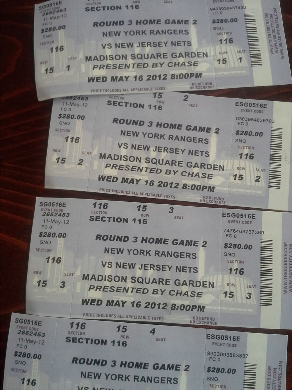 Another Reason Why Stubhub Is Getting More Popular, These Were Recently  Picked Up On 33rd Street, Lol: