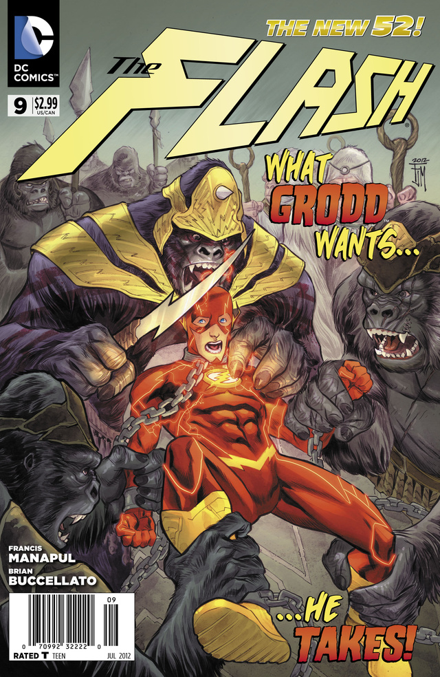 A sneak preview of  The Flash, guest-starring Gorilla Grodd!