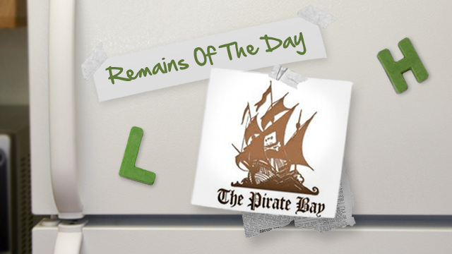 Remains of the Day: The Pirate Bay Moves to a .SE Domain