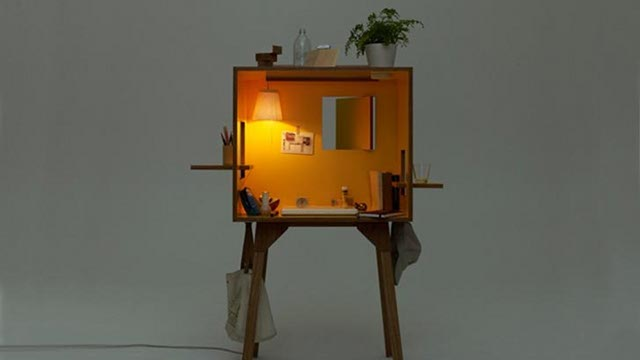 This Cute Cubicle Is The Ultimate Home Office