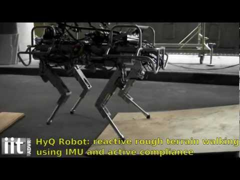 Click here to read The HyQ Is a Robotic Italian Stallion