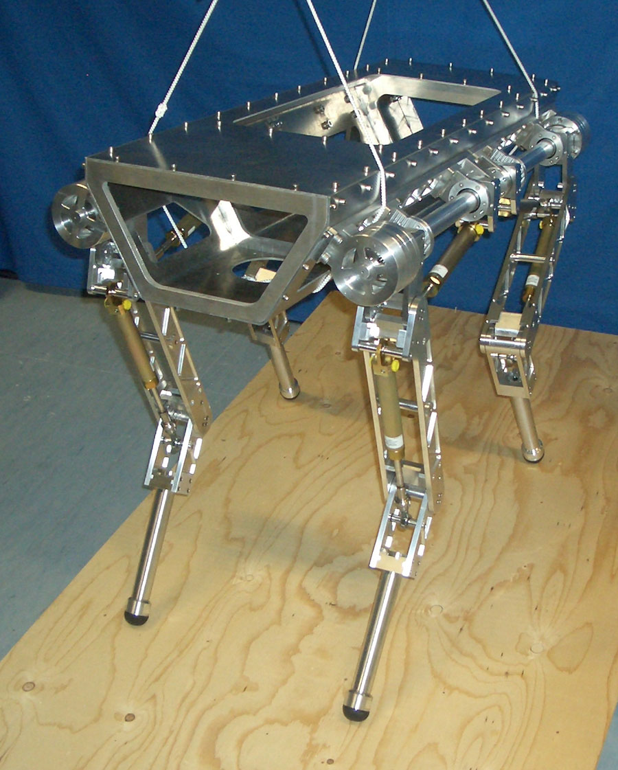 the enhancement of the quadruped robot Comparative study between classical and optimized stability margins of quadruped robot creeping gait.
