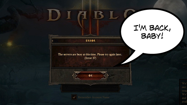 Click here to read &lt;em&gt;Diablo III&lt;/em&gt;'s Error 37: &amp;quot;Don't Call It A Comeback!&amp;quot;