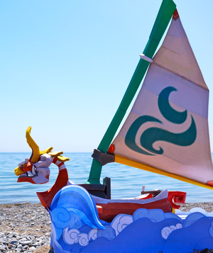 Wind Waker's King of Red Lions Comes to Life