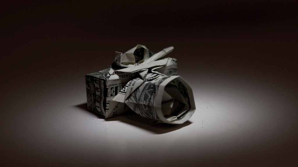 Click here to read How to Fold Your Own Origami Camera From a Dollar Bill