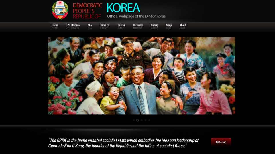 Click here to read Let's Check Out North Korea's Brand New Website!