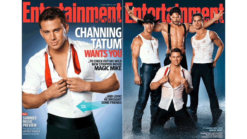 Channing Tatum Chaperoned Matthew McConaughey's First Trip to a Male Strip Show