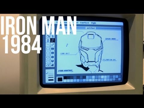 Click here to read What If Tony Stark Designed His Iron Man Suit in MacPaint?