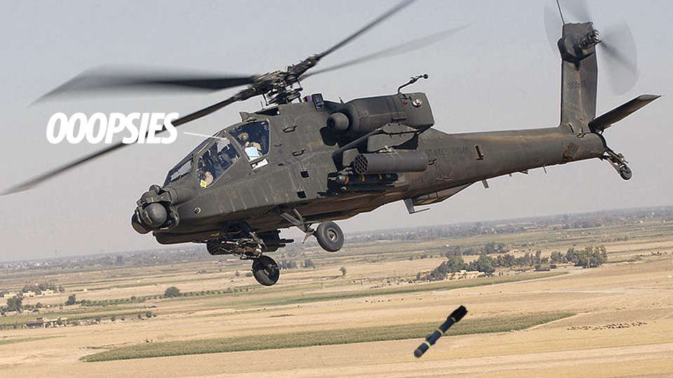 Click here to read Army Helicopter Accidentally Drops Hellfire Missile Over Texas Homes