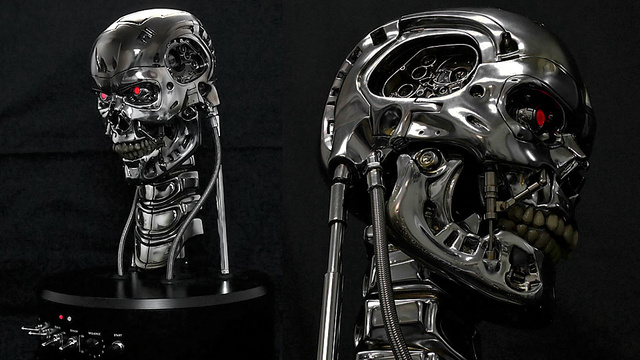 Amazingly Detailed and Animated Terminator Busts Will Strike Fear In Sarah Connors Everywhere