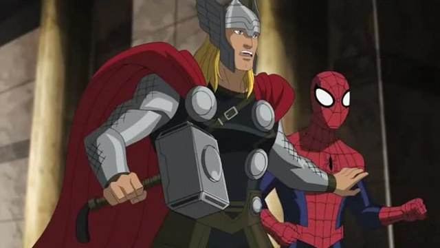 Thor mocks Spider-Man's costume & obscure DC heroes moonwalk!