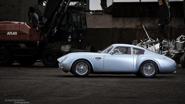Sweet Jesus, That's A Carbon Aston Martin DB4 Zagato