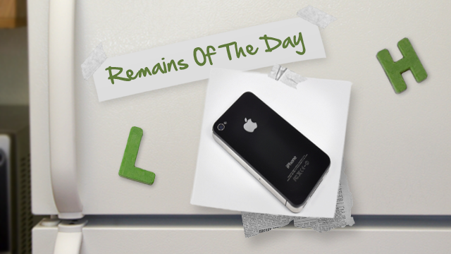 Click here to read Remains of the Day: Investigators Can Access Your iPhone's Data via iCloud