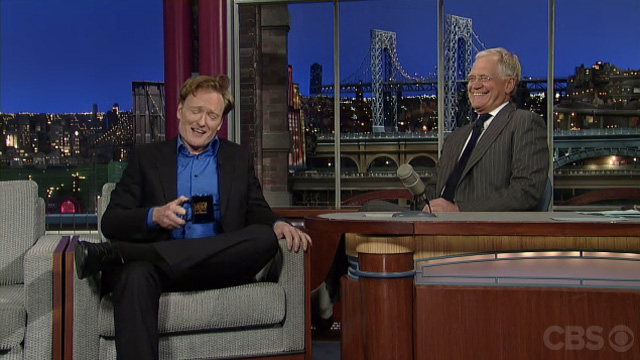 Click here to read Watch Conan and David Letterman Making Fun of Jay Leno