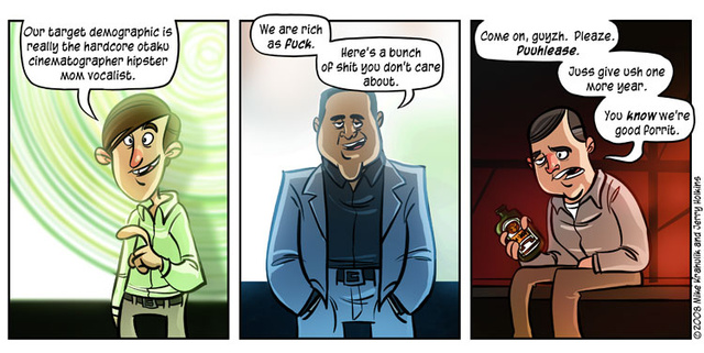 E3 in (Two) Comics