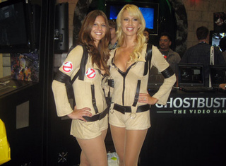 Ghostbusters: The Video Game Does Booth Babes Right