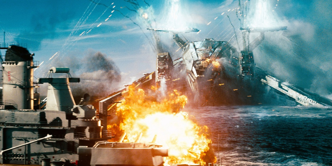 <em>Battleship</em> proves alien invasion movies are just as contrived as romantic comedies