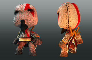 Kratos, Nariko Come To LittleBigPlanet Pre-orderers