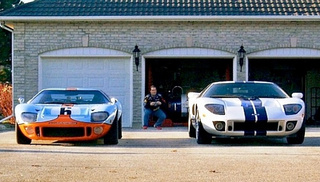 Ford GT/GT40 Size Comparison