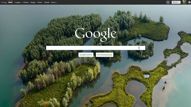 Use Bing's Beautiful Backgrounds as Your Rotating Google Wallpaper
