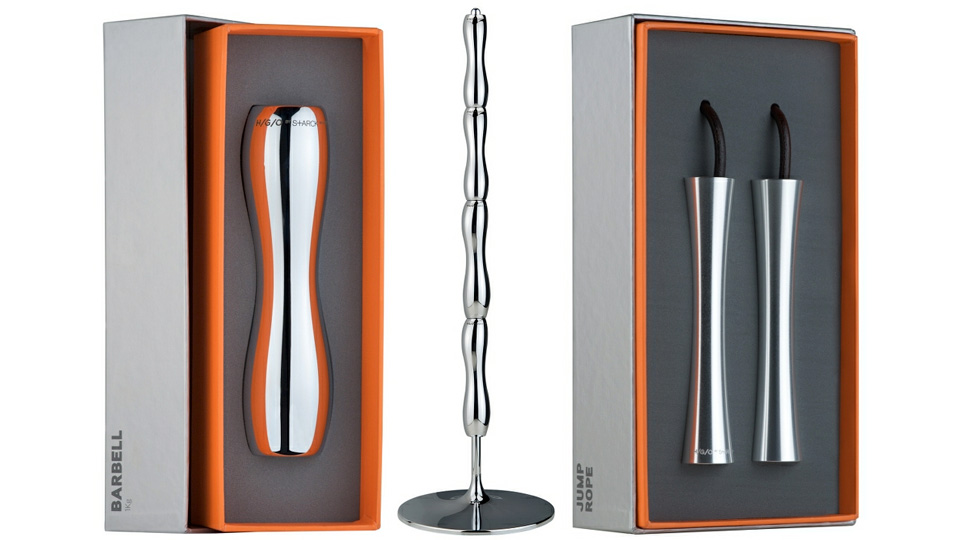 Philippe Starck Designed the Most Beautiful Fitness Equipment You'll Ever See [Fitness]