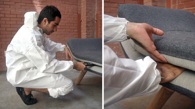 A Sofa That Encourages You To Lose Things Between the Cushions