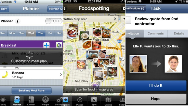 Foodspotting, The Weather Channel, and More