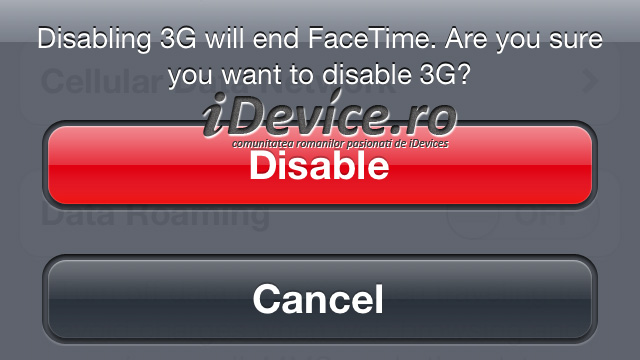 Apple Seems To Be Testing iPhone's FaceTime Over 3G