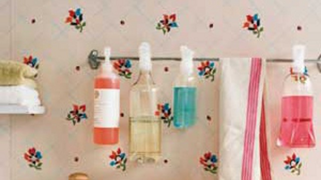 Click here to read Repurpose a Towel Rod Into a Cleaning Spray Holder