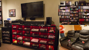 A Historically Awesome Gaming Setup with Every Console in Existence