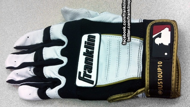 Baseball Gloves with MLB Players' Twitter Handles Are So Very Useless