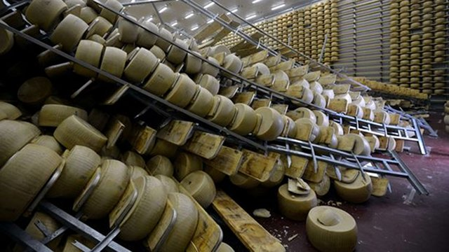 $320 Million Of Cheese Destroyed In Italian Earthquake
