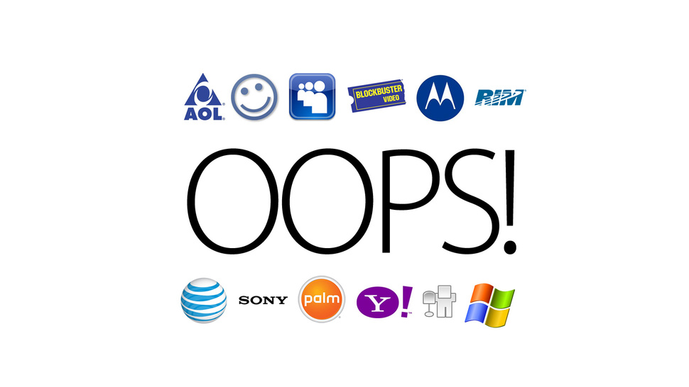 The 12 Biggest Missed Opportunities in Tech