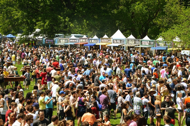 A Brief Scene From Saturday's GoogaMooga Festival in Brooklyn