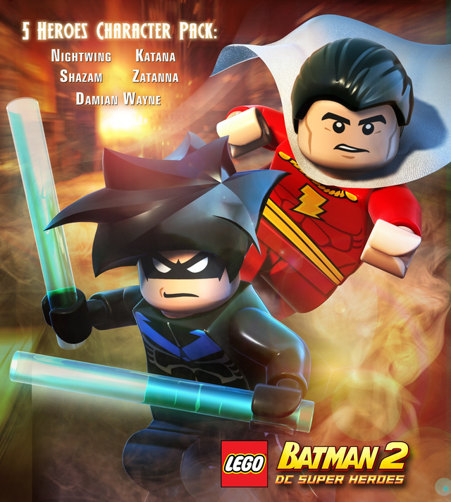 Nightwing, Bizarro and Zatanna Playable With Lego Batman 2 Pre-Order DLC