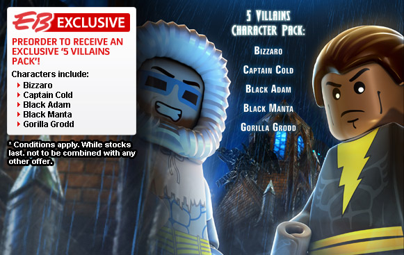 , Bizarro And Zatanna Playable With Lego Batman 2 Pre-Order DLC