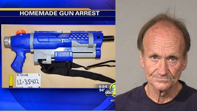US Man Busted With Homemade Shotgun Disguised As Super Soaker