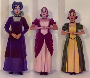 Vintage Disneyland character costumes were the fabric of nightmares