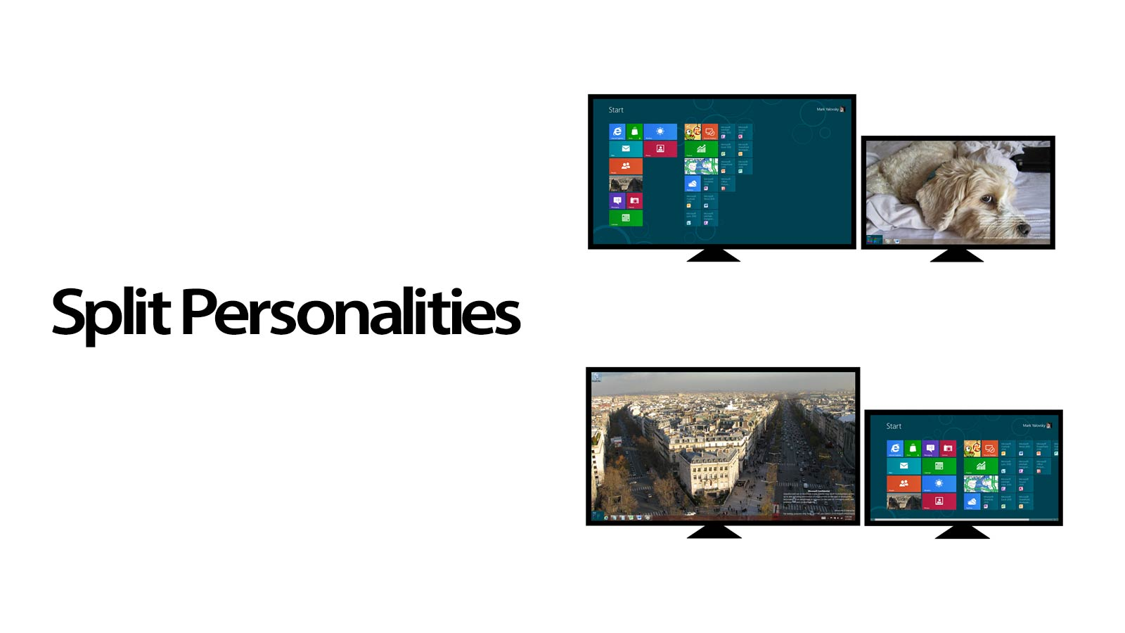 Here's How Windows 8 Works With Multiple Monitors