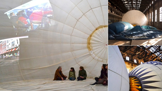 "Click here to read Hot Air Balloons Find New Life as Temporary Art Space ""Mind Igloo"""