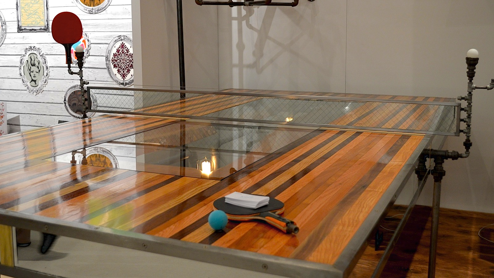 Charmant This Crazy Ass Ping Pong Table Took 400 Hours To Build
