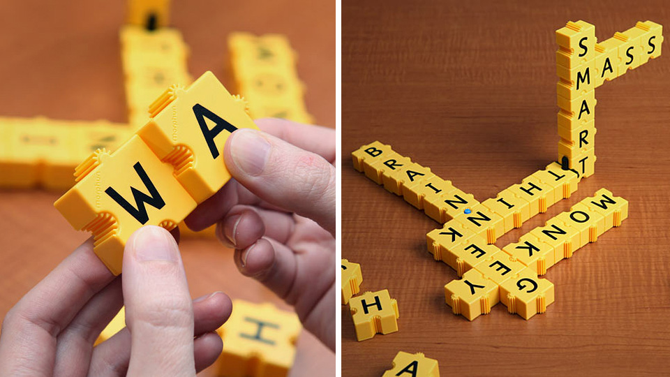 3D Scrabble Toy Is Not For Weak-Minded Wordsmiths