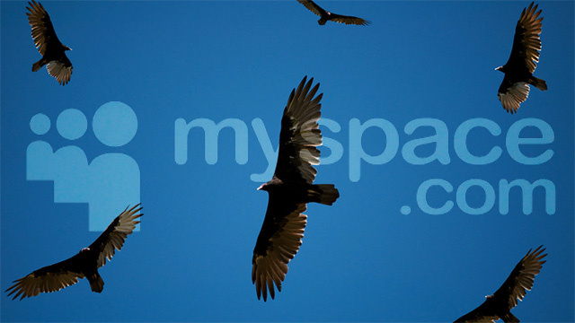 Legal Vultures Circle Dying MySpace