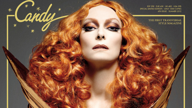 Tilda Swinton Covers Transsexual Fashion Magazine